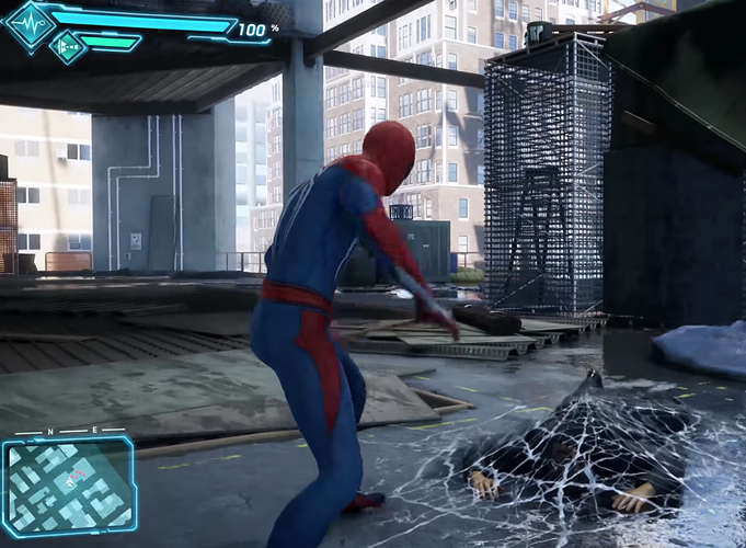 Super Eroi spiderman game