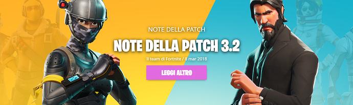 Patch 3.2 Fortnite
